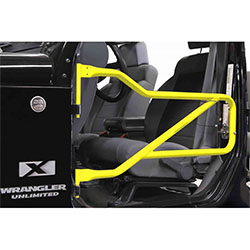 Jeep JK Wrangler Front Tube Doors Neon Yellow