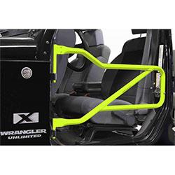 Jeep JK Wrangler Front Tube Doors Gecko Green