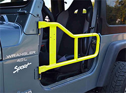 Jeep TJ Wrangler Tube Doors Neon Yellow