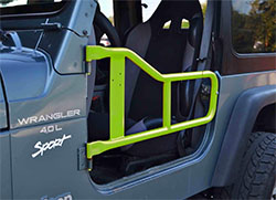 Jeep TJ Wrangler Tube Doors Gecko Green
