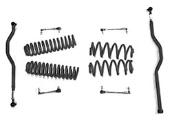 2.5 inch Basic Lift Kit Jeep JK Wranglers Black
