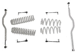 2.5 inch Basic Lift Kit Jeep JK Wranglers Gray Hammertone