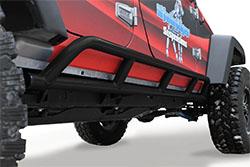 Jeep Wrangler JK Rock Sliders 4 Doors Bare