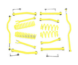 2.5 inch Lift Kit Lemon Peel Jeep JK Wrangler
