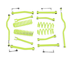 2.5 inch Lift Kit Gecko Green Jeep JK Wrangler