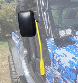 Jeep JL Wrangler Door Mirror Kit Lemon Peel