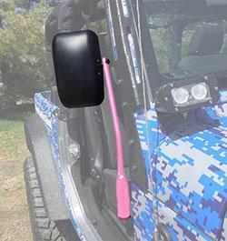 Jeep JL Wrangler Door Mirror Kit Pinky