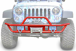 Jeep JK Wrangler Front Tube Bumper Red Baron