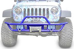 Jeep JK Wrangler Front Tube Bumper Southwest Blue