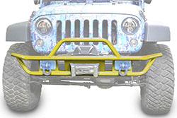 Jeep JK Wrangler Front Tube Bumper Lemon Peel