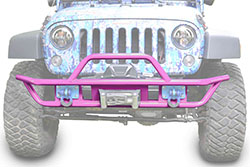 Jeep JK Wrangler Front Tube Bumper Pinky