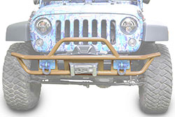 Jeep JK Wrangler Front Tube Bumper Military Beige