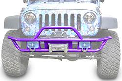 Jeep JK Wrangler Front Tube Bumper Sinbad Purple