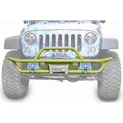 Jeep JK Wrangler Front Tube Bumper Gecko Green