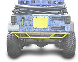 Jeep JK Wrangler Rear Tube Bumper Lemon Peel