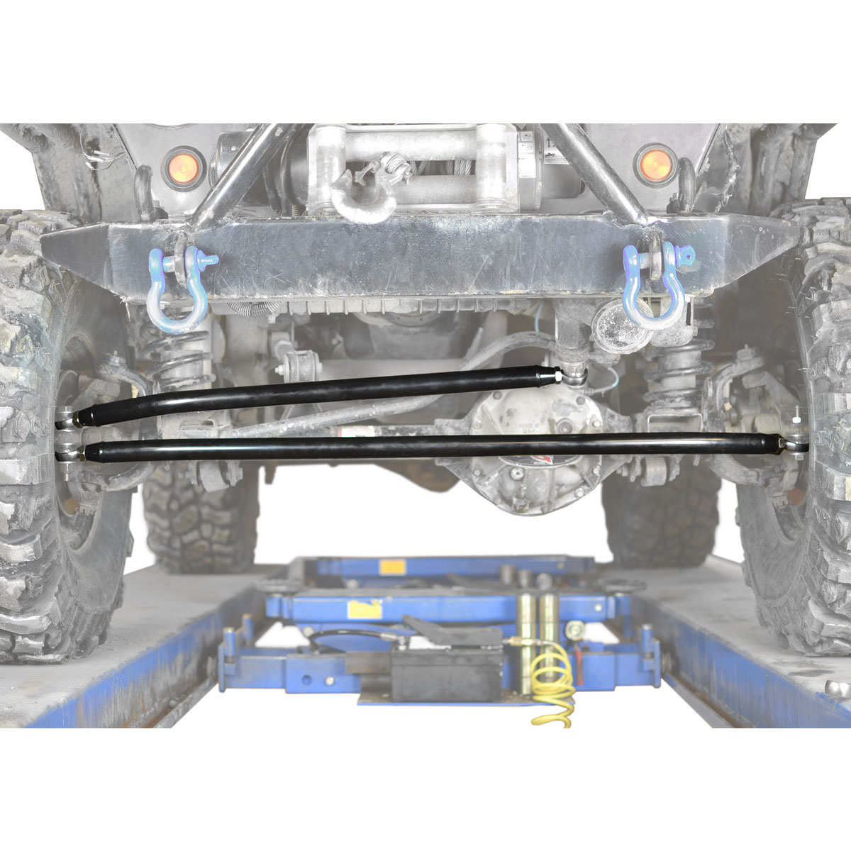 Jeep TJ Wrangler Black Crossover Steering Kit