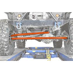 Jeep TJ Wrangler Orange Crossover Steering Kit