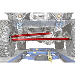 Jeep TJ Wrangler Red Baron Crossover Steering Kit