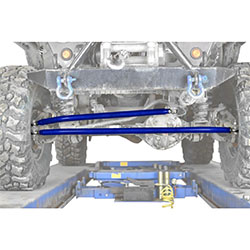 Jeep TJ Wrangler Southwest Blue Crossover Steering Kit