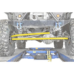 Jeep TJ Wrangler Lemon Crossover Steering Kit