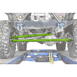 Jeep TJ Wrangler Neon Green Crossover Steering Kit