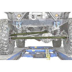 Jeep TJ Wrangler Locas Green Crossover Steering Kit