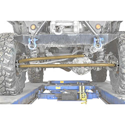 Jeep TJ Wrangler Military Beige Crossover Steering Kit