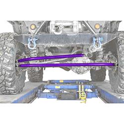 Jeep TJ Wrangler Sinbad Purple Crossover Steering Kit