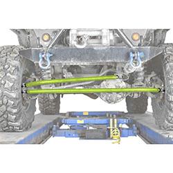 Jeep TJ Wrangler Gecko Green Crossover Steering Kit