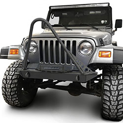 Jeep TJ Wrangler Front Bumper with Stinger Bare