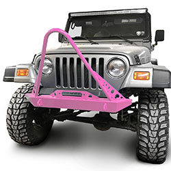 Jeep TJ Wrangler Front Bumper with Stinger Pinky
