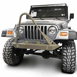 Jeep TJ Wrangler Front Bumper with Stinger Military Beige