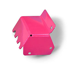 Jeep TJ Wrangler Steering Box Skid Hot Pink