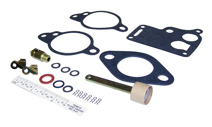 Carburetor Rebuild Kit 45-49 CJ2A, 48-53 CJ3A