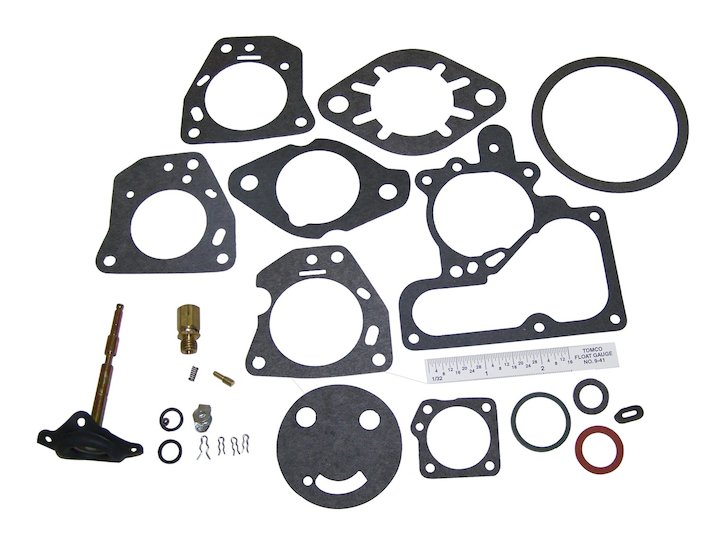 Carburetor Repair Kit CJ3B, CJ5, CJ6, YF Engine