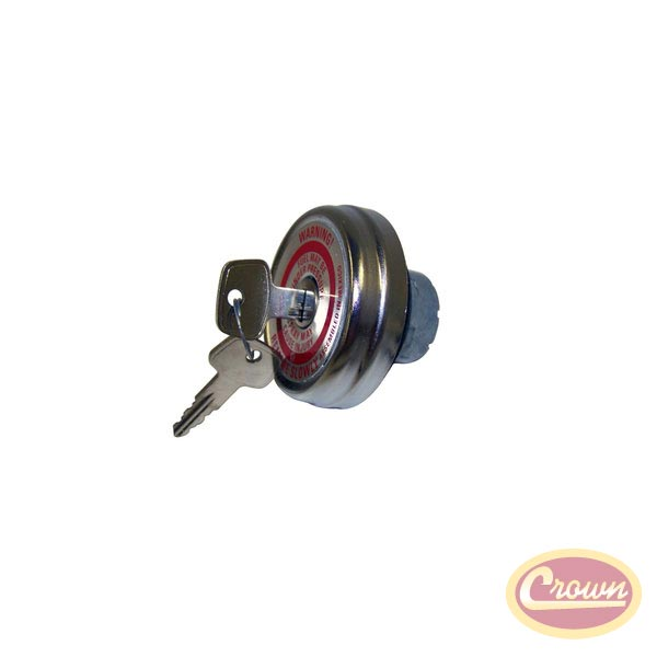 Locking Gas Cap 45-76 CJ2A, CJ3A, CJ3B, CJ5 and CJ6