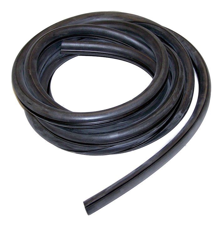 Windshield Glass Weatherstrip, 51-75 CJ and M38A1