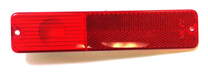 Rear Side Marker Lens, Red, 72-86 CJ, 72-91 Jeep SJ & J-Series