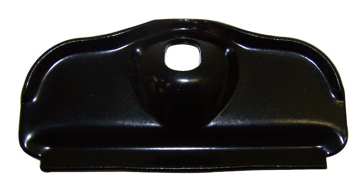Battery Tray Clamp, Black, 76-86 Jeep CJ