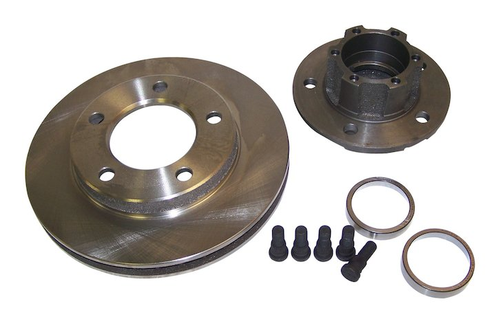 Front Hub and Rotor Assembly 76-77 Jeep CJ