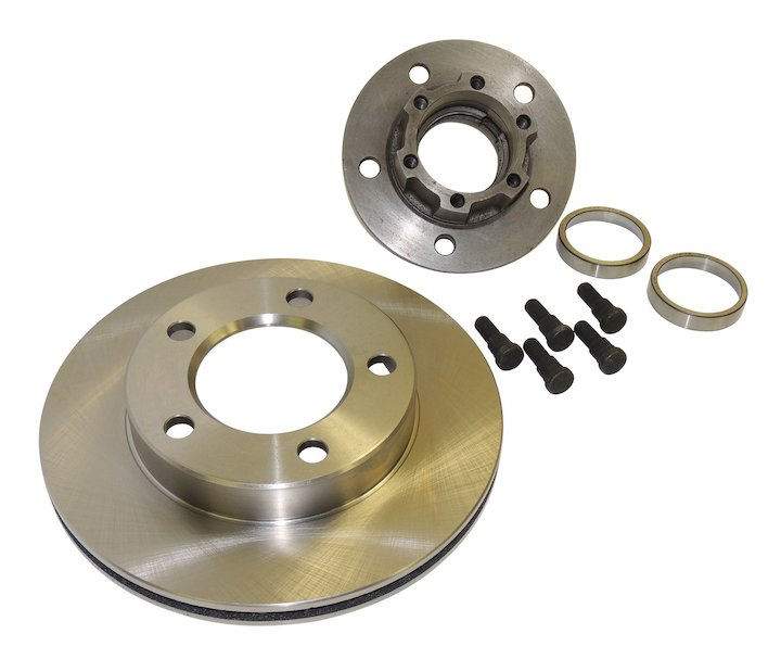 Front Hub and Rotor Assembly 78-81 Jeep CJ