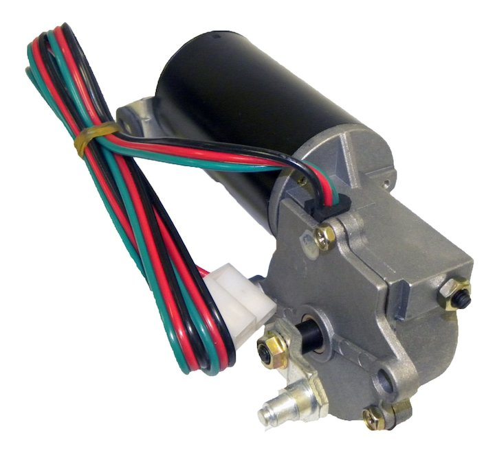 front wiper motor 3 wire plug 76-83 jeep cj