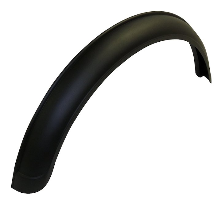 CJ Rear Fender Flare, Left, 55-86 Jeep CJ