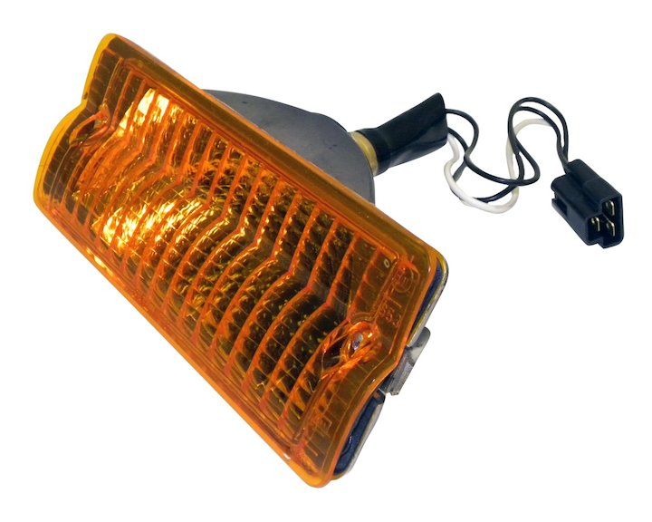 Parking Lamp, Right, Amber, 76-91 Jeep SJ & J-Series