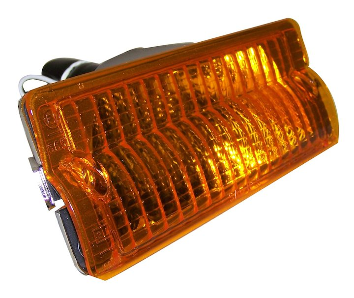 Parking Lamp, Left, Amber, 76-91 Jeep SJ & J-Series