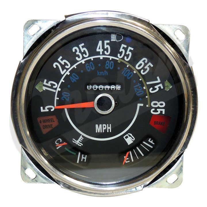 Speedometer Assembly 1980-86 Jeep CJ