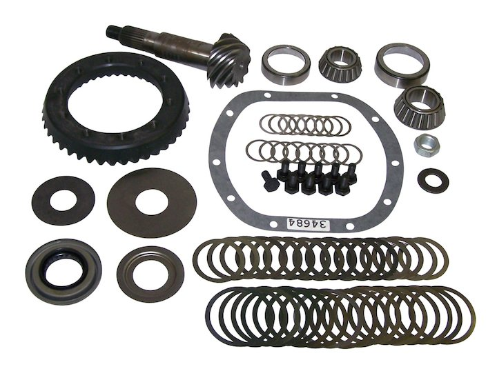 Ring & Pinion Set, 4.10, Model 30