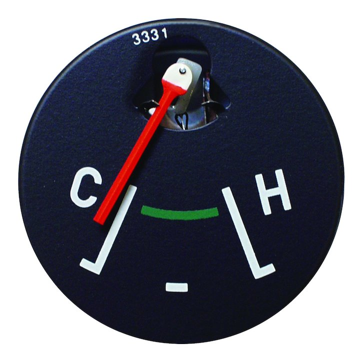 Temperature Gauge for 1972-86 Jeep CJ Models