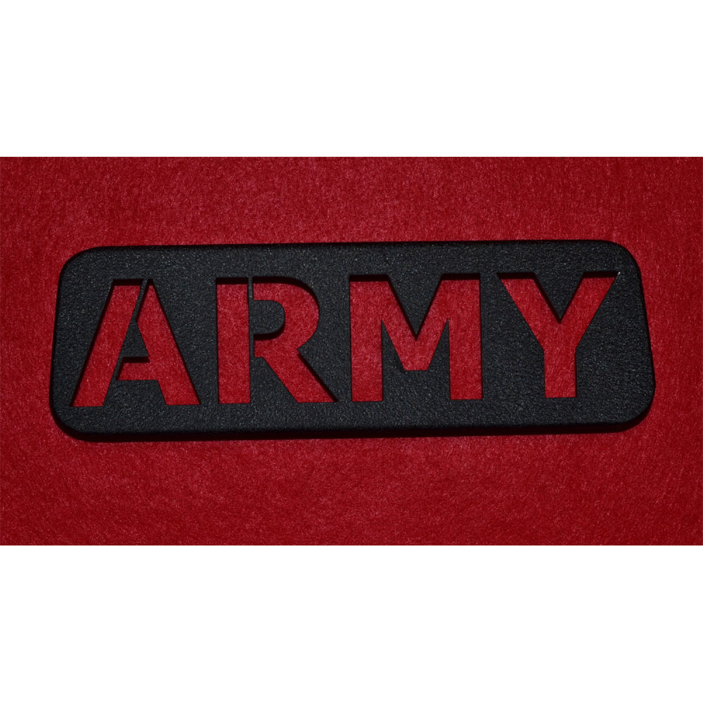 Third Brake Light Guard, Army, 07-17 Wrangler