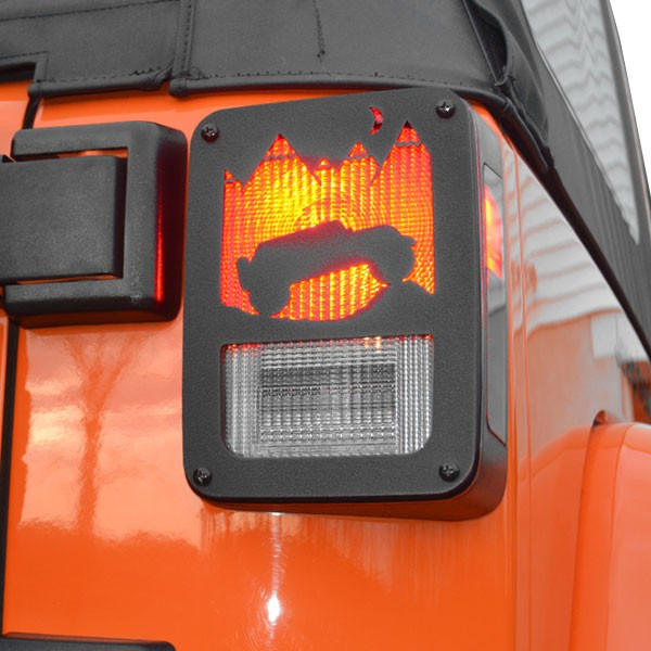 Jeep Tweaks Jt11 B Jeep Tweaks Tail Light Guards 07 17